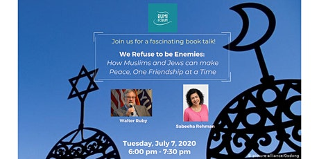 We Refuse to be Enemies:  How Muslims and Jews can make Peace ... tickets