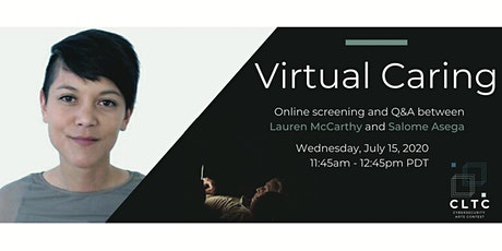 """Virtual Caring"" Live Discussion and Q&A tickets"