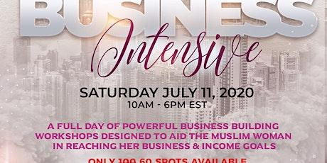 Virtual Business Intensive tickets