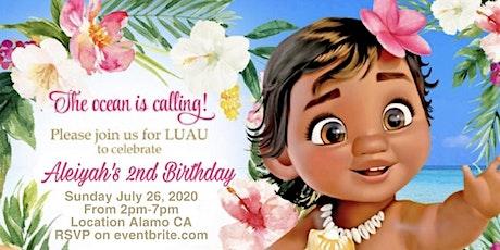 Aleiyah's Moana pool party! tickets