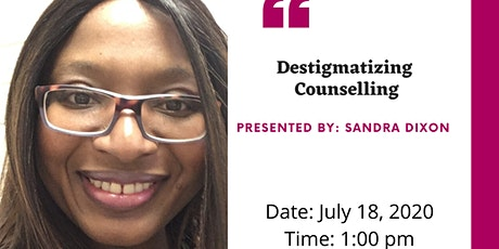 DeStigmatizing Counselling tickets
