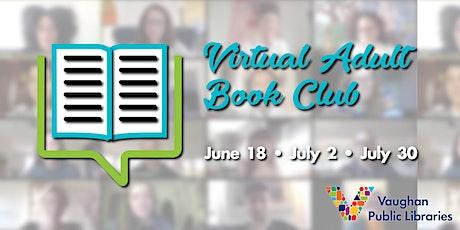 Virtual Adult Book Club tickets