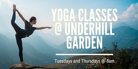 Yoga @ Underhill Garden tickets