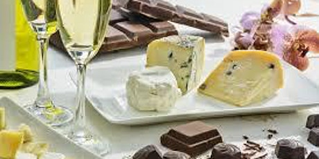 Chocolate Cheese and Bubbles tickets