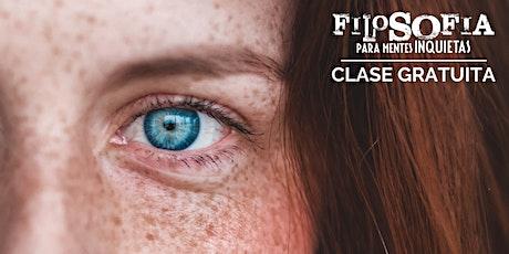Clase gratuita: Filosofía para Mentes Inquietas tickets