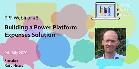 PPF Webinar #6- Building a Power Platform Expenses Solution entradas