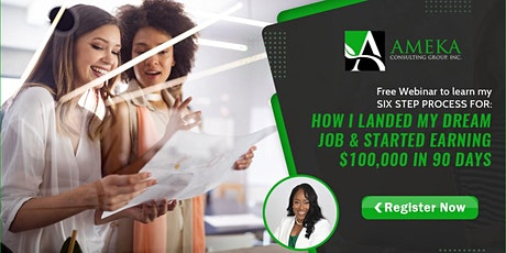 Level Up In Your Career & Start Earning The Money You Desire! tickets