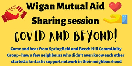 Wigan Mutual Aid Networking session tickets