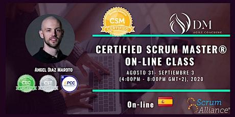 Certified Scrum Master® (CSM®) bilhetes