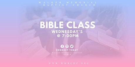 Walker Memorial Bible Study tickets
