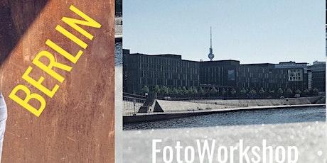 """Foto Workshop """"WIE-WAS-WO"""" Berlin Tickets"""