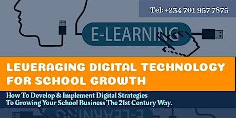 Digital Technology & School Growth tickets