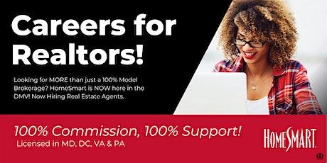 Careers for Realtors! HomeSmart Q&A Live Webinar! biglietti