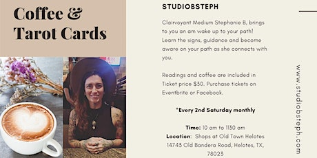 Coffee & Cards Clairvoyant Readings tickets