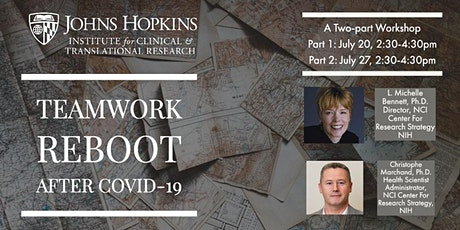 Teamwork Reboot after COVID-19: An ICTR Team Science Workshop tickets