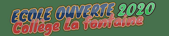 Image pour ECOLE OUVERTE-Collège La Fontaine- 26 août 2021