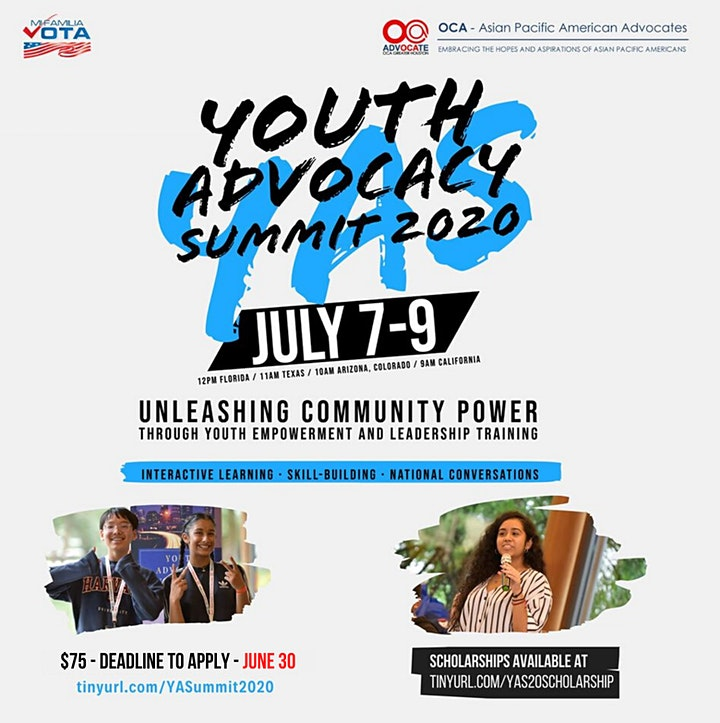 Youth Advocacy Summit 2020 image