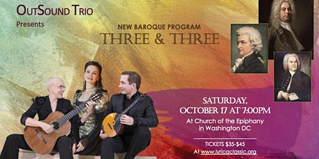 THREE & THREE tickets