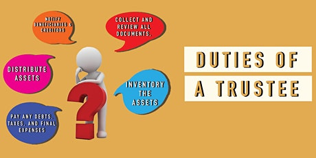Trustee and Power of Attorney Training School  Webinar (Live Chat Q&A) tickets