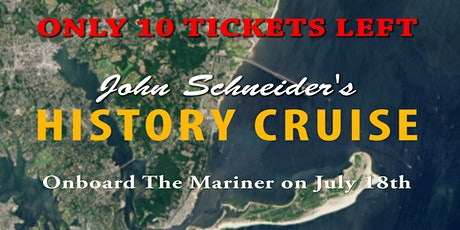 History Cruise with John Schneider tickets