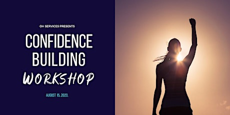 1 Day - Confidence Building Workshop tickets