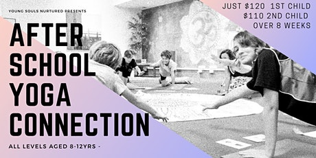 After School Yoga Connection (8-12yrs) Noosaville tickets