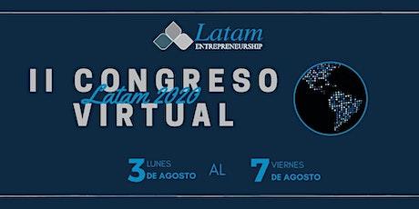 Segunda edición Congreso online V.I.P. - LATAM 2020 entradas