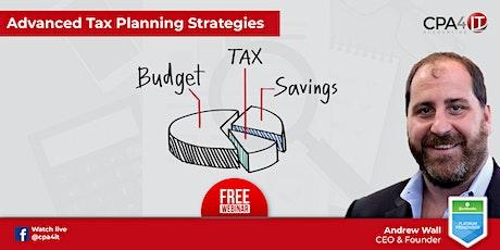 Advanced Tax Planning Strategies tickets