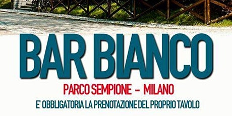 Giovedi Luglio Bar Bianco Aperitivo & Drink INFO Prenotazioni 3463958064 biglietti