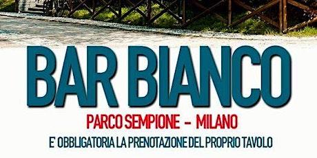 Mercoledi 8 LUGLIO Bar Bianco Aperitivo & Drink INFO Prenotazioni 34639580 biglietti