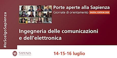 Area ingegneria delle comunicazioni ed elettronica biglietti
