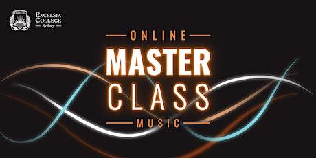 Online Masterclass - Music 2020 tickets