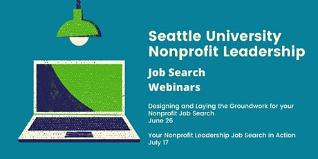 Part 2: Your Nonprofit Leadership Job Search Plan in Action tickets