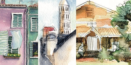 Travel Sketching: Buildings Watercolour Workshop tickets