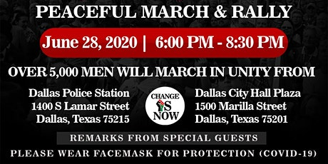 Change Is Now 'March & Rally' tickets