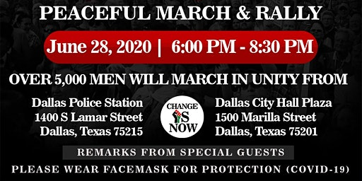 Change Is Now 'March & Rally'