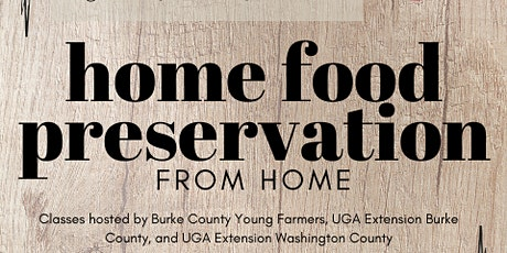 Home Food Preservation: Freezing tickets