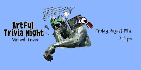 An Artful Trivia Night (virtual edition) tickets