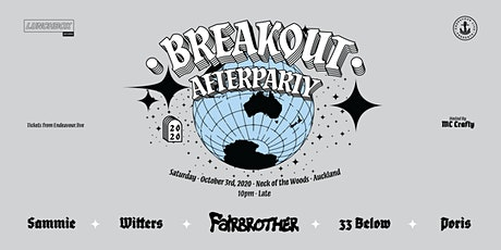 Breakout 2020 Afterparty tickets