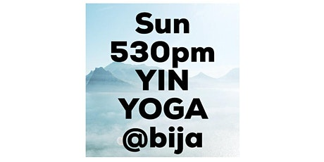 SUNDAY 530pm YIN YOGA CLASS tickets