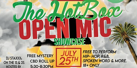 The Hot Box: Open Mic tickets