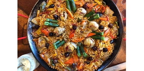 Vegan - Paella, PRIVATE cooking class (02-28-2021 starts at 11:00 AM) tickets