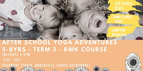 After School Yoga Adventures (5-8yrs) Noosaville tickets