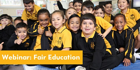 Fair Education:  A Catalytic Contribution towards Educational Equity tickets