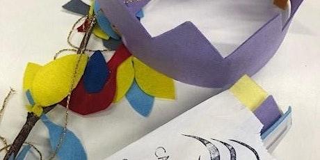 Virtual School Holidays Program- No Sew Crafts tickets
