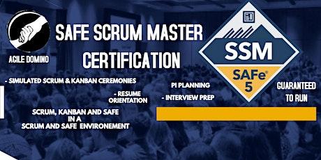 SAFe Scrum Master (SSM 5.0)Certification Training tickets