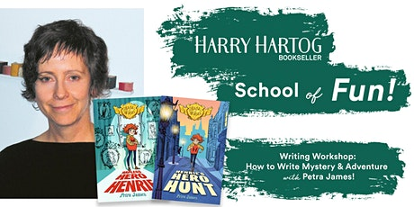 Writing Workshop: How to Write Mystery & Adventure with Petra James tickets