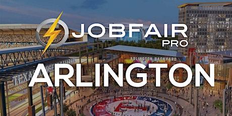 Arlington TX Virtual Job Fair November 10 2020 tickets