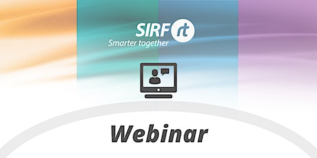 SIRF Webinar | Predictive Maintenance of Pumps using Condition Monitoring tickets