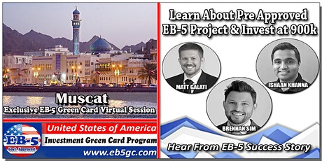 Muscat EB-5 American Green Card Virtual Market Series tickets
